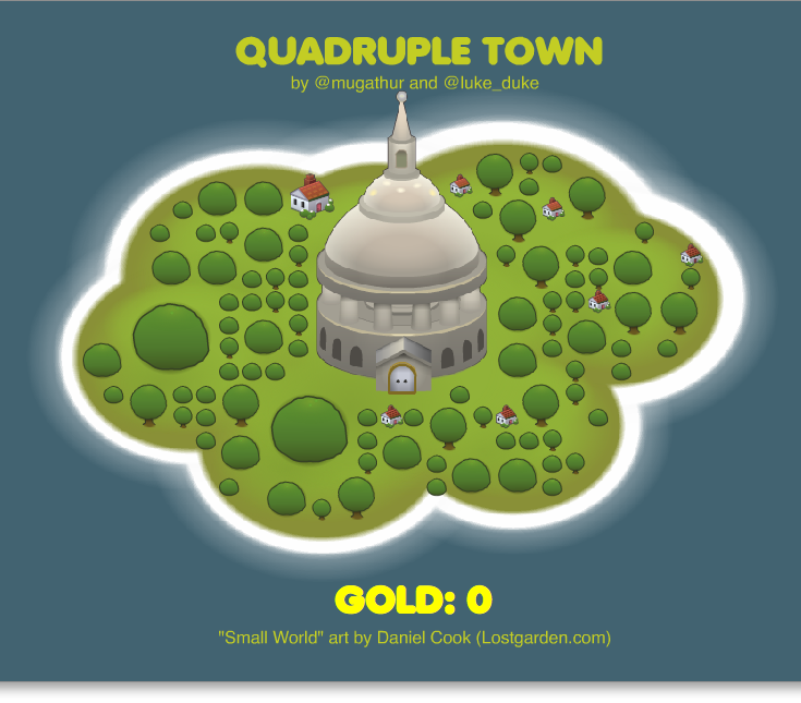 Quadruple Town Screenshot
